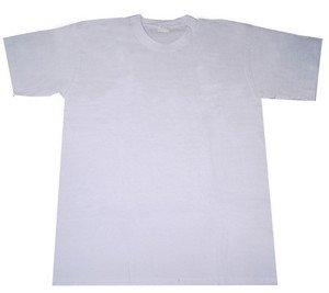 554a0e1c3028b0 The Custom Print Shop Plain White Blank Sublimation T-Shirt T-Shirts  Polyester Cotton Dye Sub Printing Size: XXL: Amazon.co.uk: Clothing