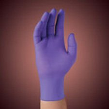 Price comparison product image The Amazing SafeSkin 55092 Purple Nitrile Sterile Exam Gloves-Medium-50/Box