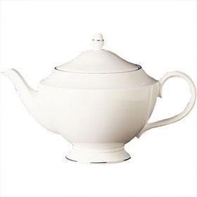 Wedgwood Signet Bone China Platinum Teapot