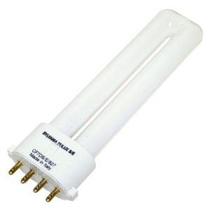 SYLVANIA 20312 - CF7DS/E/827 - 7 Watt CFL Light Bulb - Compact Fluorescent - 4 Pin 2G7 Base - 2700K -