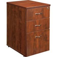 Lorell LLR68715 68600 Series Pedestal, Cherry