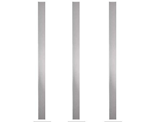 """Stainless Steel Sheet Metal Strips 3 1//2/"""" Wide x 12/"""" Long x .018/"""" Thick"""