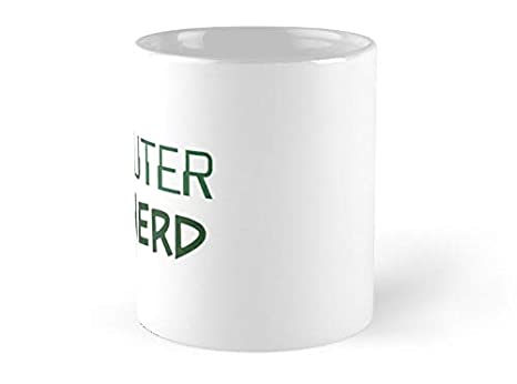 Amazon.com: Taza SeaZTh de Ingeniero de Ordenador Enginerd ...