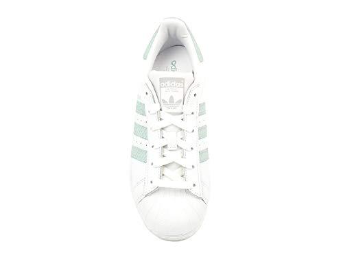 Plamet adidas Vercen Superstar Ftwbla 0 Damen Fitnessschuhe Weiß W zUH0wz