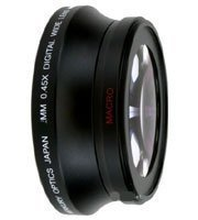 58mm .43X Wide Angle Lens with Macro for Sony Cybershot DSC-H10, DSC-H5, DSC-H3, DSC-H2, DSC-H1, DSC-F828, DSC-F717, DSC-F707 Digital Cameras + DPGear Cleaning (Dsc F707 Accessories)