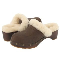 e1d80fe66a3 Amazon.com: UGG Australia Kalie Leather Sheepskin Clog Mules (7 M ...