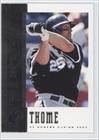 Jim Thome 2006 Upper Deck SPx Baseball Card #20 (White Sox)