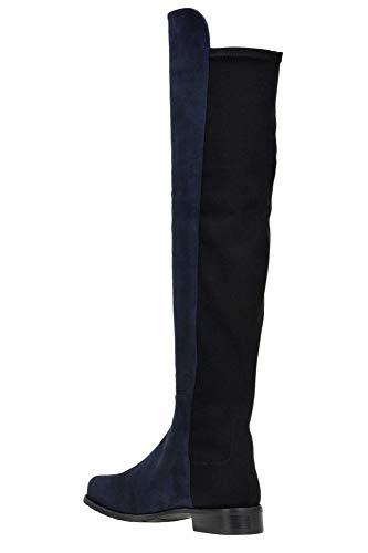 Stuart Blue Women's Boots Suede Mcglcas000004089i Weitzman rqAawpr