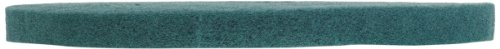 Glit 13515 TK Polyester Blend UHS Aqua Burnishing Floor Pad, Synthetic Blend Resin, Talc Grit, 15″ Diameter, 1000 to 3000 rpm (Case of 5)