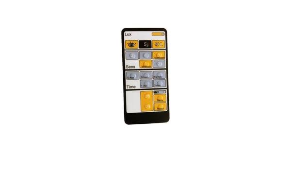 Dinuy EM.MAN.DM0 - Mando distancia ajuste parametro detector: Amazon.es: Bricolaje y herramientas