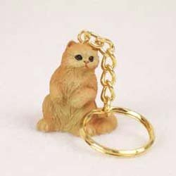 Persian Cat Keychain by Conversation Concepts - Persian Cat Keychain