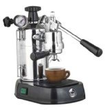 La Pavoni Professional PBB-16 Espresso Machine Black Base