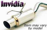 Invidia (HS97HP1GTP) N1 Cat-Back Exhaust System with Stainless Steel Tip for Honda Prelude
