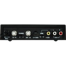 Channel 3/4 S-Video / Composite / Stereo Audio RF Modulator-by-TecNec by TecNec
