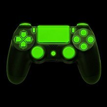 Glow in the Dark Full Buttons Set Trigger Dpad Thumbsticks Replacement Joystick Thumbstick Thumb Stick For PS4 Playstation 4 Controller