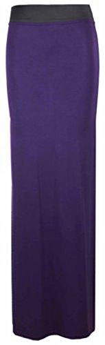 Crazy Girls Women Elasticated Gypsy Long Plain Printed Maxi Skirt.UK 8-26