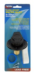 Valterra A01-0169Lfvp City Water Inlet Flush (City Water Inlet)