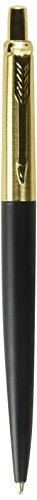 Parker IM Black Gold Trim Retractable Ballpoint Pen (S0736830)