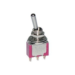 miniature toggle switch spdt on off on 30 10006 rh amazon com