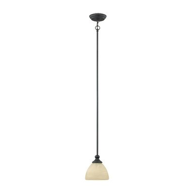- Designers Fountain 82830-BNB 1-Light Mini Pendant Del Amo
