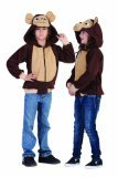 Morgan The Monkey Costume (RG Costumes 'Funsies' Morgan The Monkey Hoodie, Child Large/Size 12-14)