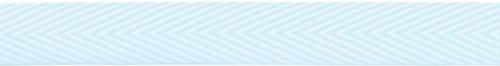 May Arts Chevron Stripe - Twill Chevron Stripe Ribbon 3/4