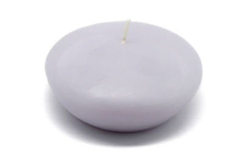 Lavender Scented Floating Candle - Zest Candle 12-Piece Floating Candles, 3-Inch, Lavender