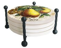 Counter Art CART14917 Wire Round Coaster Holder