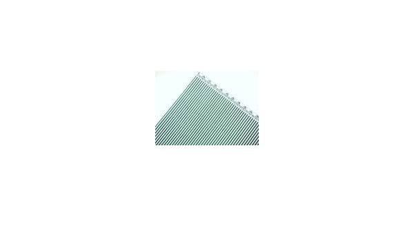 Melody Jane Dolls House Light Blue on White Windsor Stripe Miniature Wallpaper