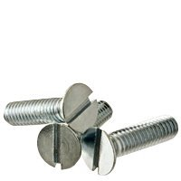 Finish: Zinc Length: 2-1//2 Inch Quantity: 100 Size: #8-32 #8-32 x 2 1//2 Machine Screw Round Head Slotted ZINC CR+3 Material: Steel Head: Round Fully Threaded