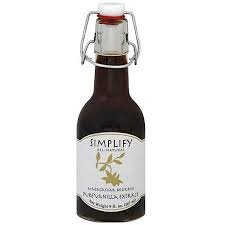 Simplify Madagascar Pure Vanilla Extract, 9 Ounce (Pack of 6)