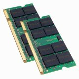 PNY OPTIMA 2GB (2x1GB) Dual Channel Kit DDR2 667 MHz PC2-5300  Notebook / Laptop SODIMM Memory Modules MN2048KD2-667 (Pc2 3200 Ddr Sdram Memory)