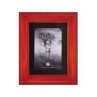 Barnwood Corner (Rustic Redwood with Black Photo Corners by Dennis Daniels® - 5x7)