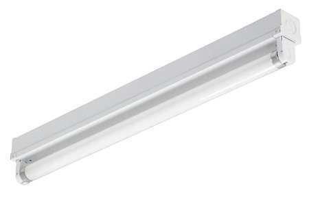 Channel Strip Fixture, F15T8, 1 Lamp, 15W