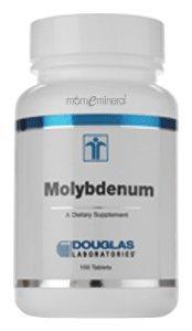Дуглас Labs - Молибден (глицинатных) 250 мкг, 100 таблеток