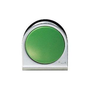 生活日用品 (業務用100セット) カラーマグネット クリップ 大 緑 B074MMMSGH