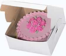 Wilton Plain 12 x 12 x 6 Inch Cake Box