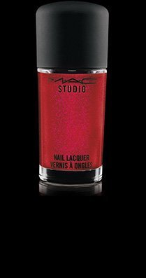 Mac Studio Nail Polish Lacquer - ROUGE COMBUSTION by MAC