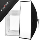 Fotodiox Pro 48-Inch x 72-Inch Softbox PLUS Grid/Eggcrate for Studio Strobe/Flash with Soft Diffuser and Dedicated Speedring, for Novatron M Series Monolight M150, M300, M500, Bare Tube Head 2107FC Strobe Flash Light