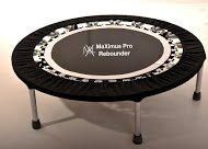 MaXimus Life Pro Gym Rebounder Package Includes Compilation DVD and Handle Bar (Beginner Rebounder Dvd)