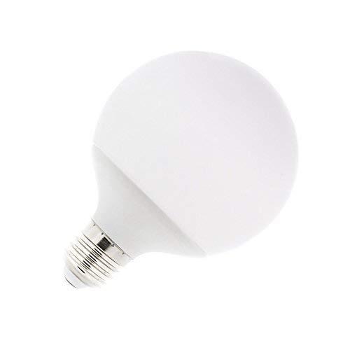 DiluxeLED - Bombilla LED G80, tipo globo,consumo 12W(equivalente a 120 W