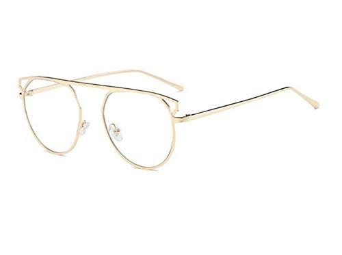 para Gafas de Hombres Gafas Huyizhi Guay Gafas protección sol UV400 de de Mujeres Gafas viajar Golden sol decoración de Gafas CfTxZxPwq