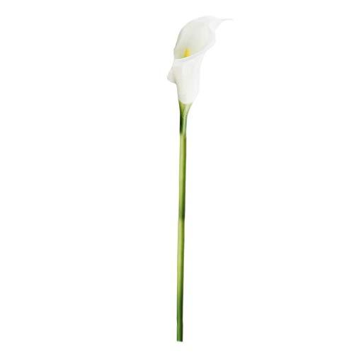 - IslandseArtificial Flower Artificial Calla Lily Fake Flower Wedding Home Decor Bouquet (B)