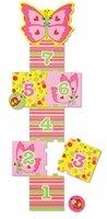 Foam Hopscotch Board - Melissa & Doug Sunny Patch Bella Butterfly Hopscotch