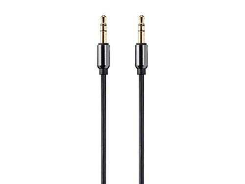 Audio Auxiliary Series - Monoprice Onyx Series Auxiliary 3.5mm TRS Audio Cable, 10ft - (118631)