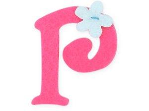 H Letter In Pink Pink Felt Alphabet Let...