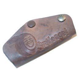 1950's B.F. Goodrich Smileage Leather Key Chain Fob - J.L. Byerly Tire, Brookville, PA