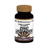 (ZINC LOZ W/VIT C 100MG H/L WML 50 by Windmill)