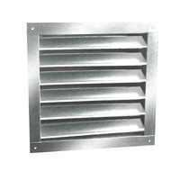 Ll Building Products DA2430 ''DA-Series'' Aluminum Dual Louver 24''x30'', Mill Finish