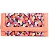 Vera Bradley Women's Trimmed Vera Wallet Pixie Confetti Wallets